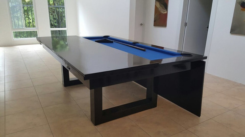 mesa de billar convertible en comedor