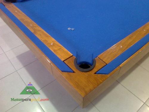 mesa de billar convertible pool y carambola mdf mediana