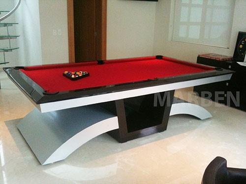 mesa de billar de lujo blackdiamond r 52 en