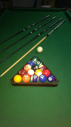 mesa de billar elegante