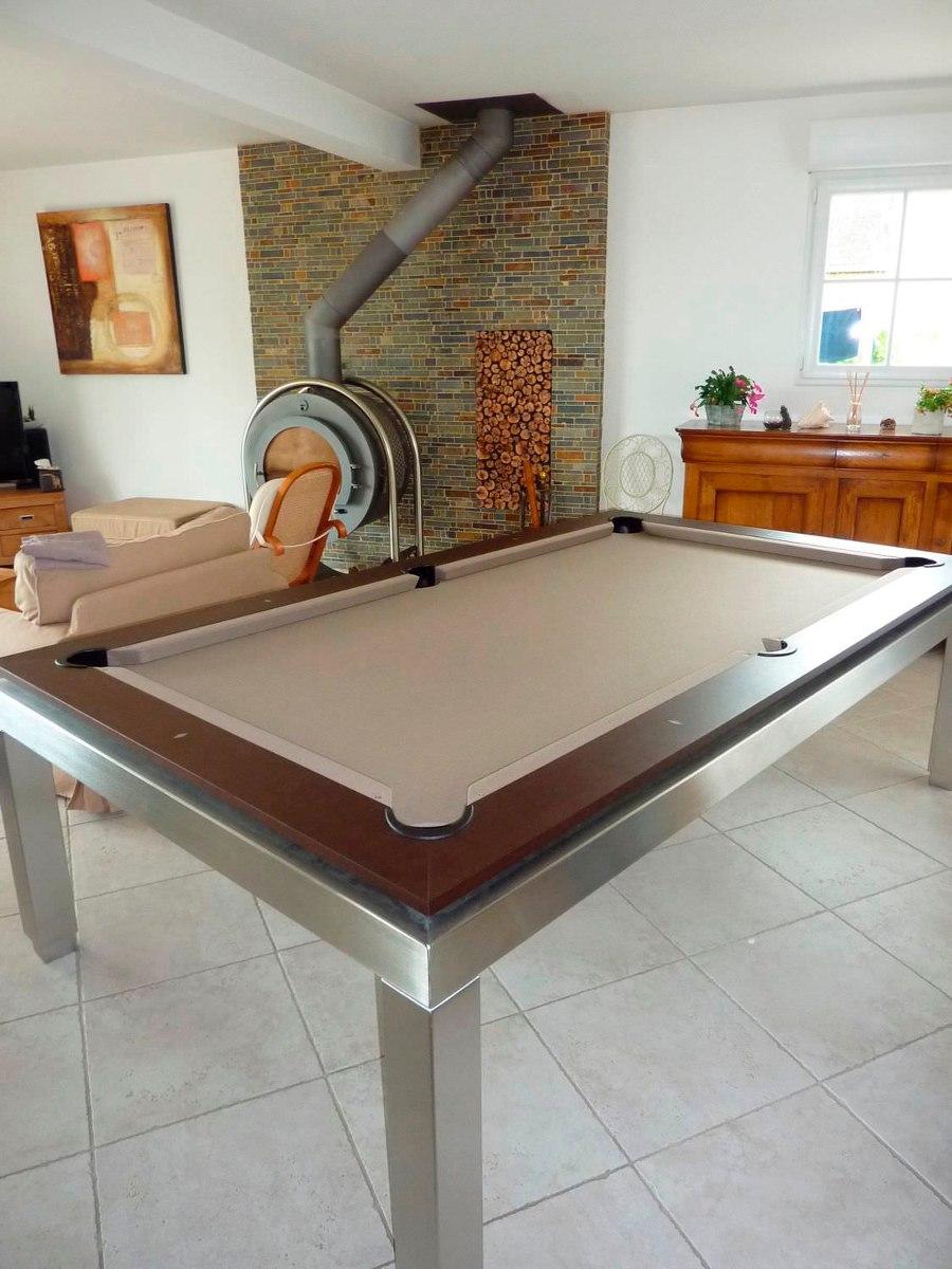 Mesa de billar en ptr con accesorios 33 en for Accesorios de mesa de billar