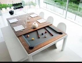 Mesa De Billar Jm Multiusos (comedor, Billar Y Ping Pong)