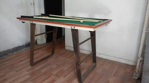 mesa de billar juvenil