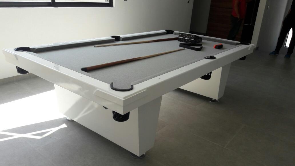 Mesa de billar minimalista nueva con accesorios 12 500 for Accesorios de mesa de billar