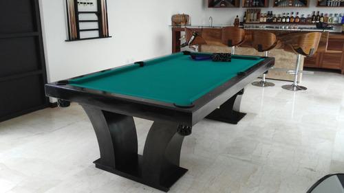 mesa de billar patas de palmera