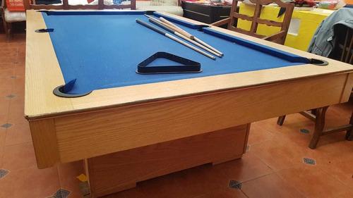 mesa de billar pool de pizarra de piedra brasileña