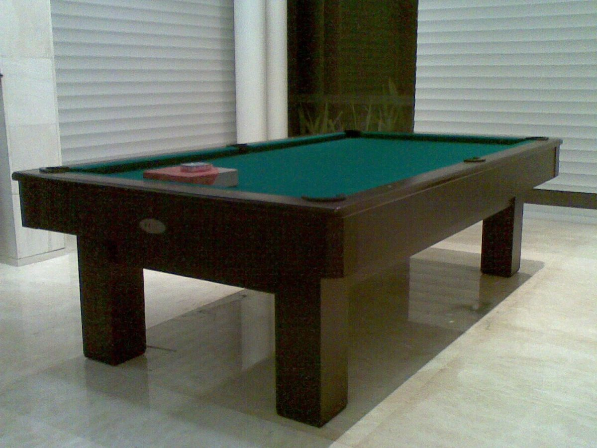 Mesa de billar profesional estilo minimalista 17 500 for Mesa de billar profesional