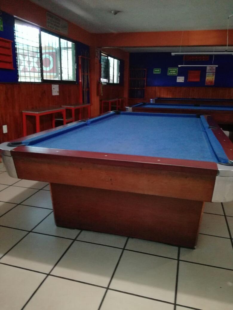 Mesa De Billar Profesional Pool 13 500 00 En Mercado Libre