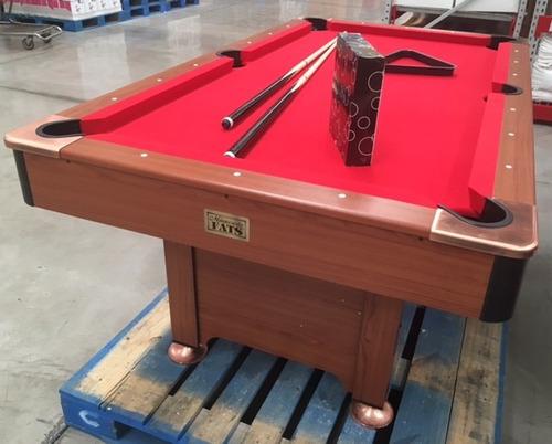 mesa de billar semiprofesional. nueva y empacada