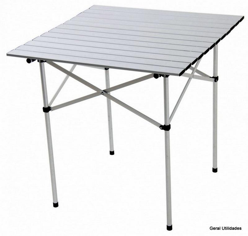 mesa de camping aluminio andorra mor dobr vel de