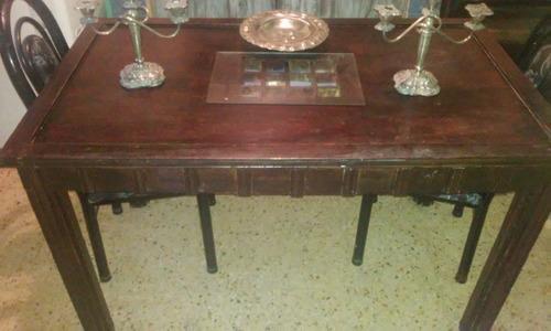 mesa de campo (el pasado)
