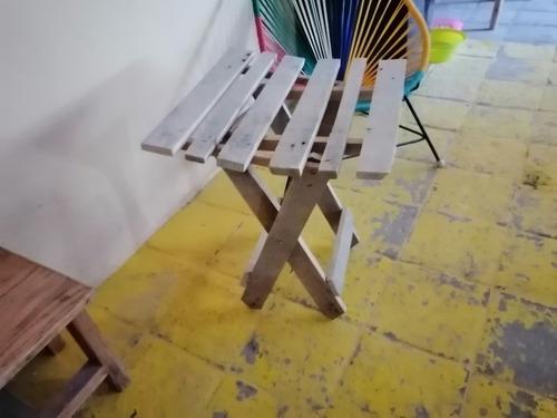 mesa de campo plegable