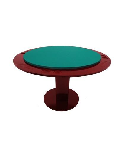 mesa de carteado redonda - klopf