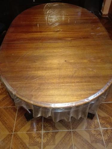 mesa de cedro extensible chipendale  imaculadoa