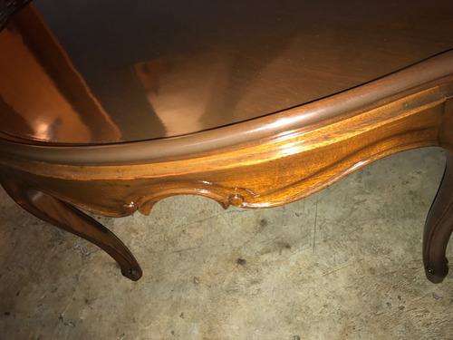 mesa de centro  caoba