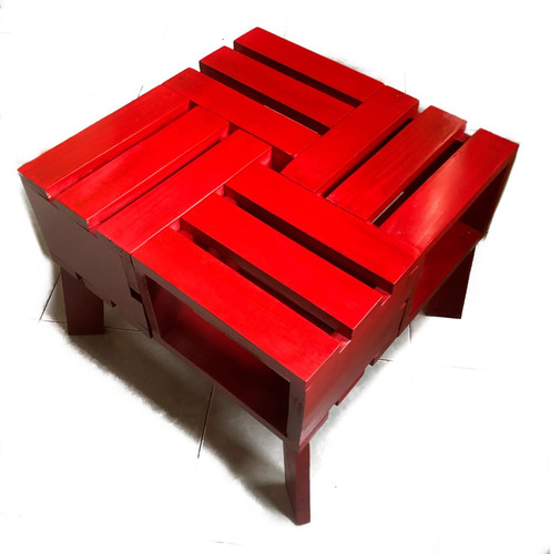 mesa de centro chica minimalista