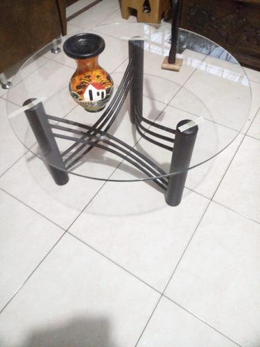 mesa de centro de 0.80 de diámetro