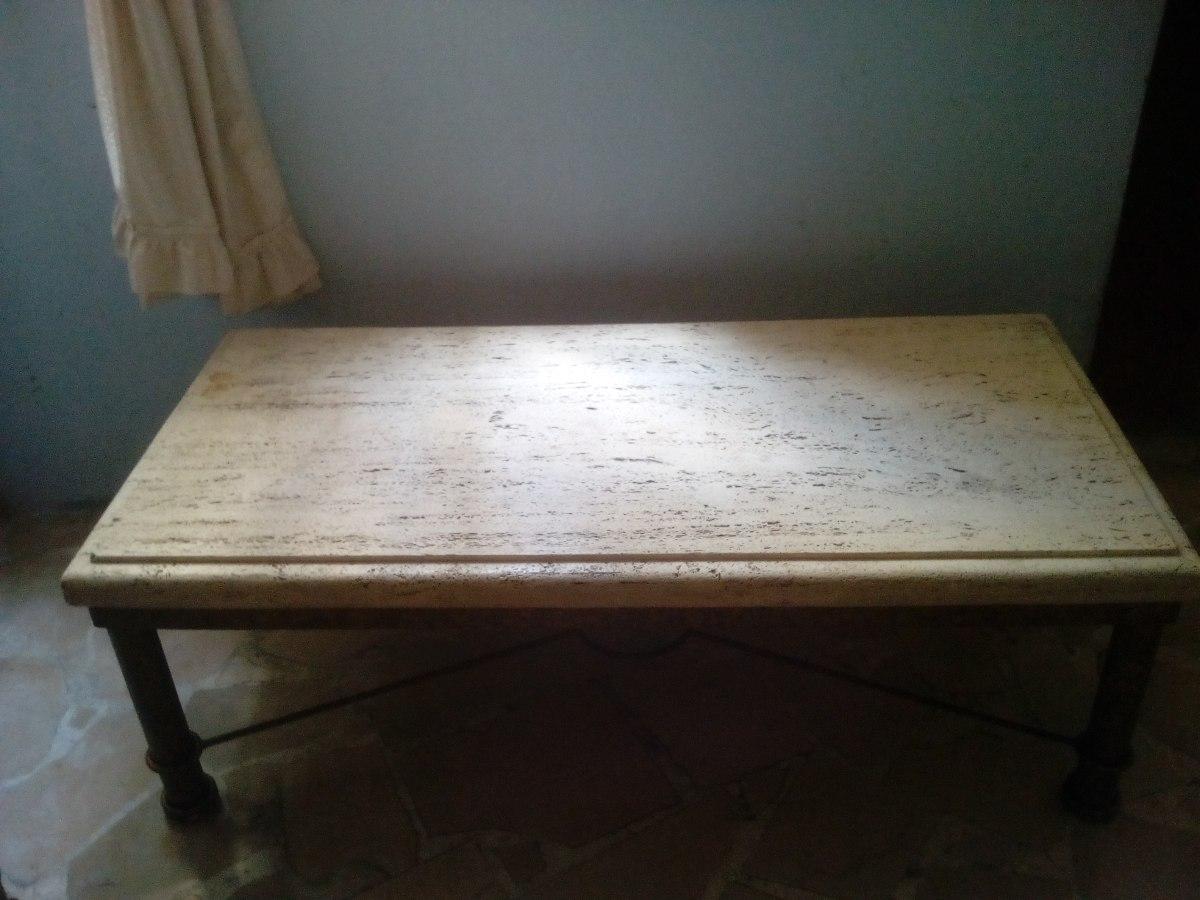 mesa de centro de granito hierro color bronce u s 180 00