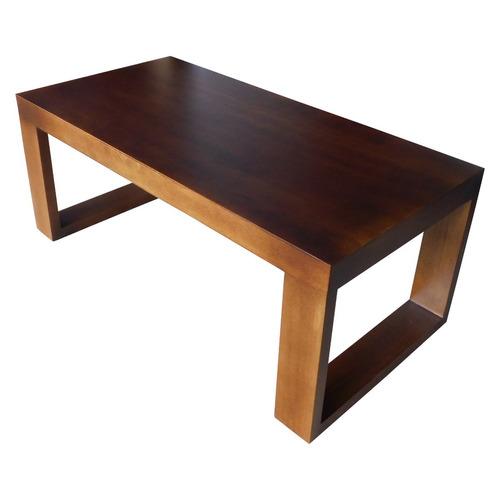 Mesa de centro de madera estufada 1 en mercado libre - Mesas de centro ...