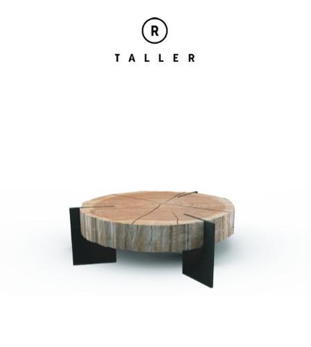 Mesa de centro de madera maciza 15 en mercado libre - Mesa centro madera maciza ...