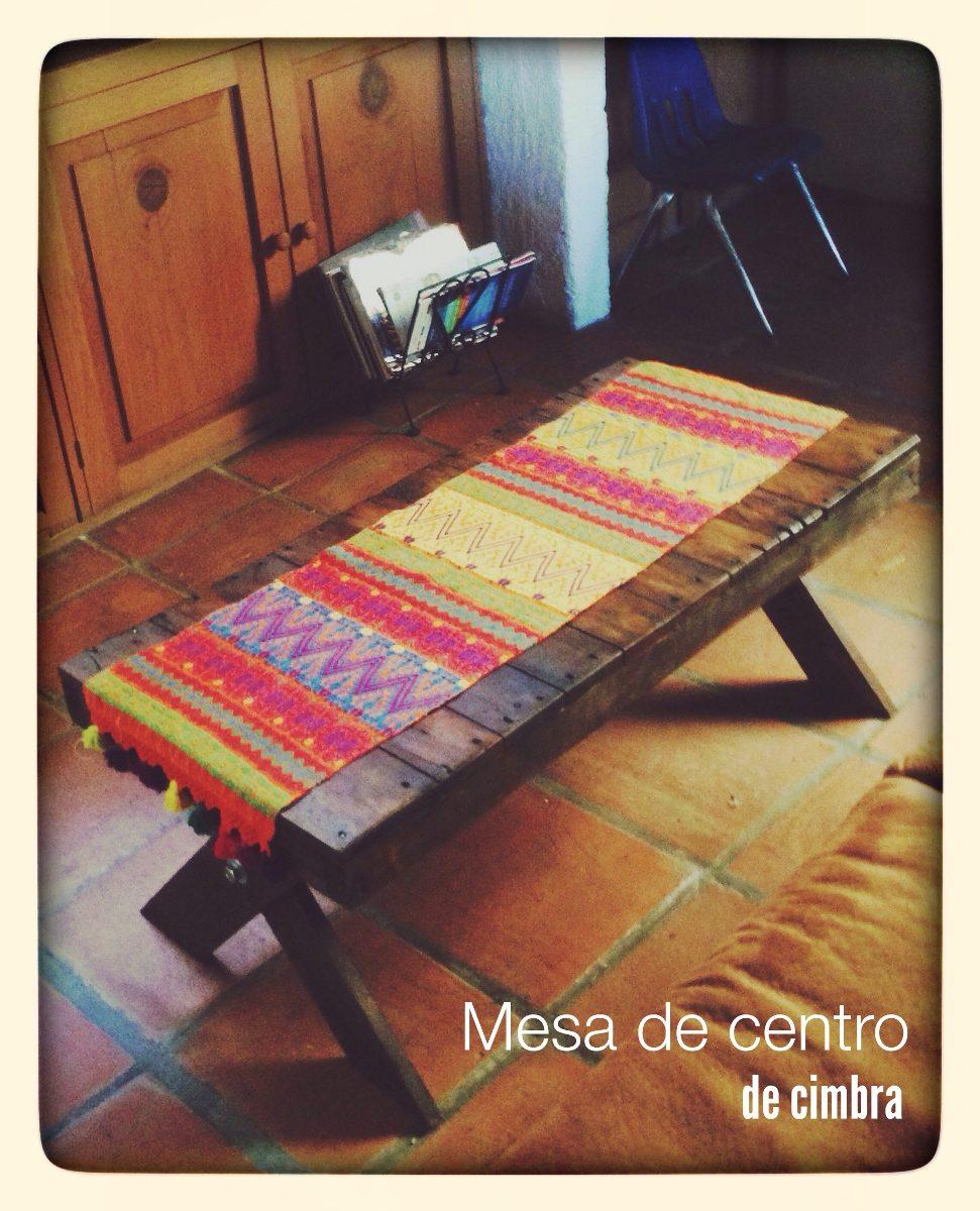 Mesa de centro de madera reciclada 1 en mercado - Mesa de centro plegable ...