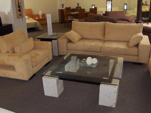 mesa de centro de marmol