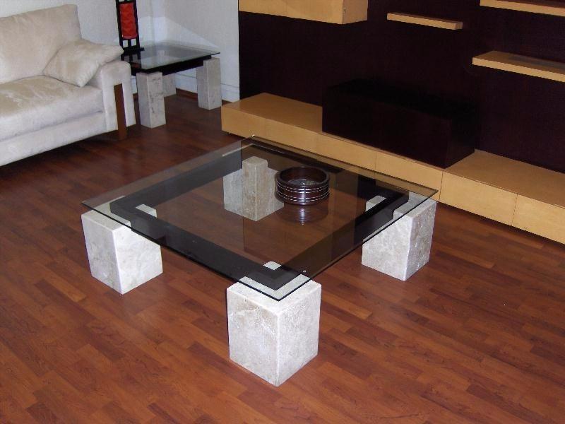Mesa de centro de marmol 5 en mercado libre for Mesa centro marmol