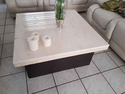 mesa de centro de mármol grande, solo en león, gto.