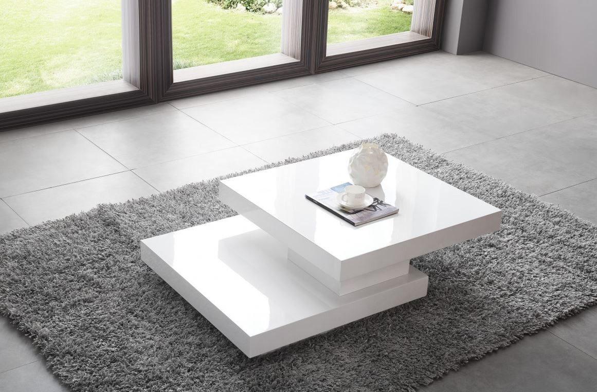 mesa de centro diseo moderno giratoria ref girasol
