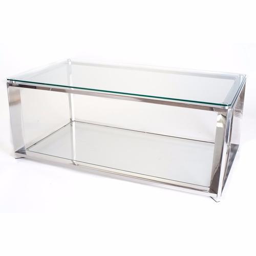 mesa de centro en cristal templado b018g00