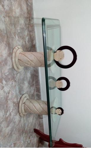 mesa de centro en marmol
