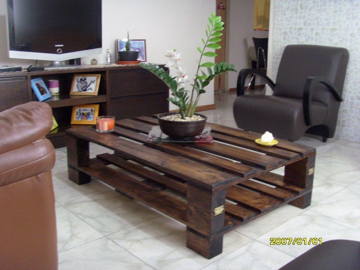 Bricomania mesa de palets mesas hechas con palets - Mesa de palets ...