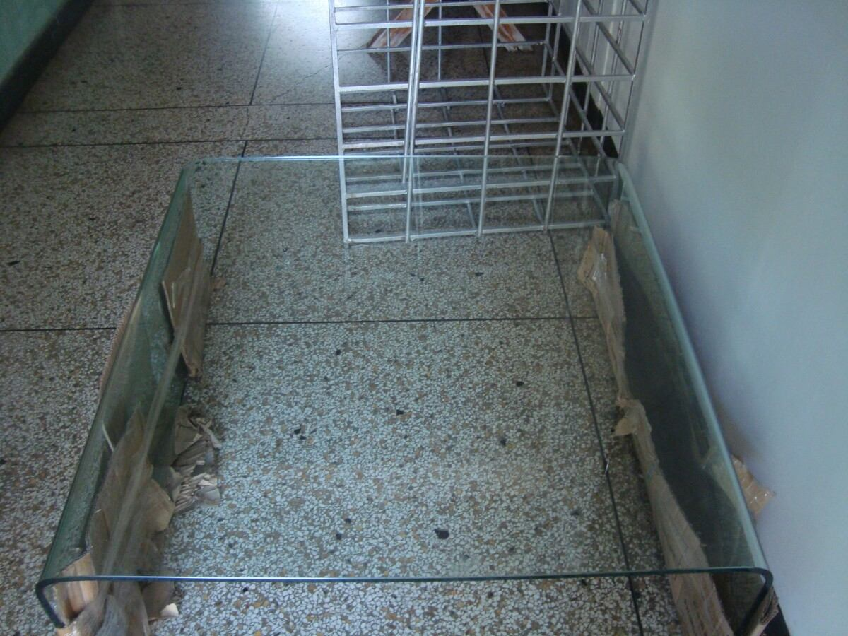 Mesa de centro en vidrio templado bs 1 20 en mercado libre - Mesas de vidrio templado ...