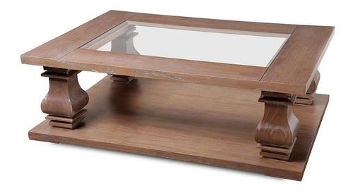 mesa de centro escalonada