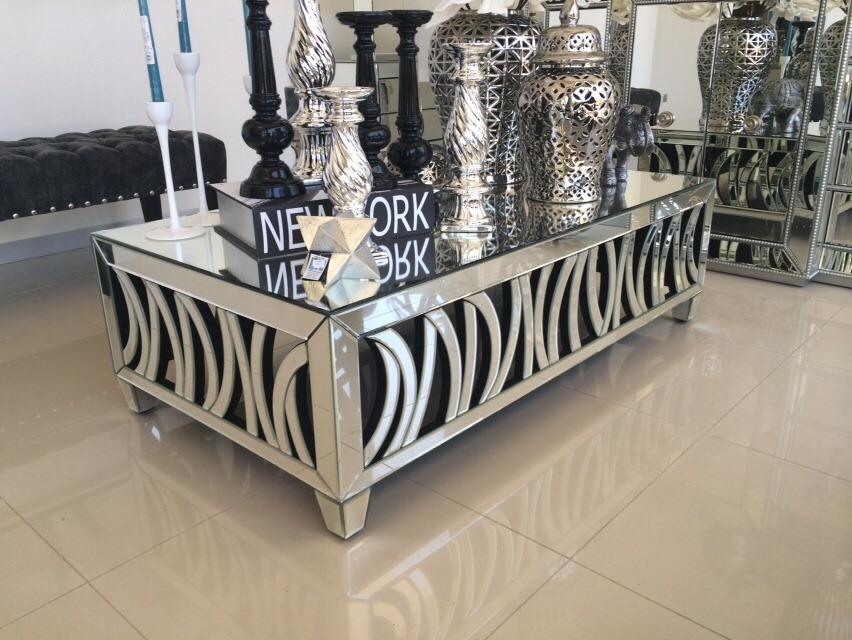 Mesa de centro espejo 6 en mercado libre for Espejos para mesa