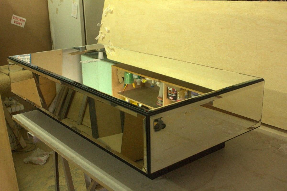 Mesa de centro espelhada direto da f brica r - Baul mesa de centro ...