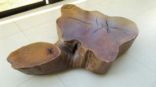 mesa de centro madeira maciça rustica com frete gratis.