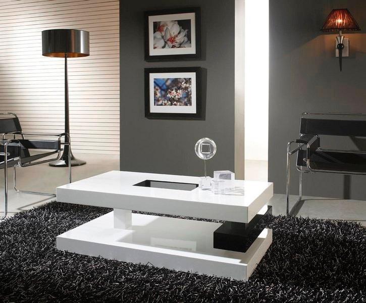 Mesa de centro madera lacada ref deko4 3 100 cm x 60 cm for Alfombras modernas bogota