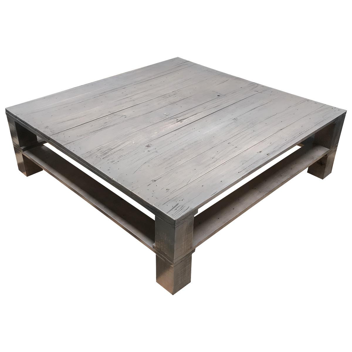 mesa de centro madera minimalista vintage pallets mesas On mesas de centro de madera para sala