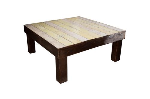 mesa de centro marley 100x90x33 madera pantano pallet