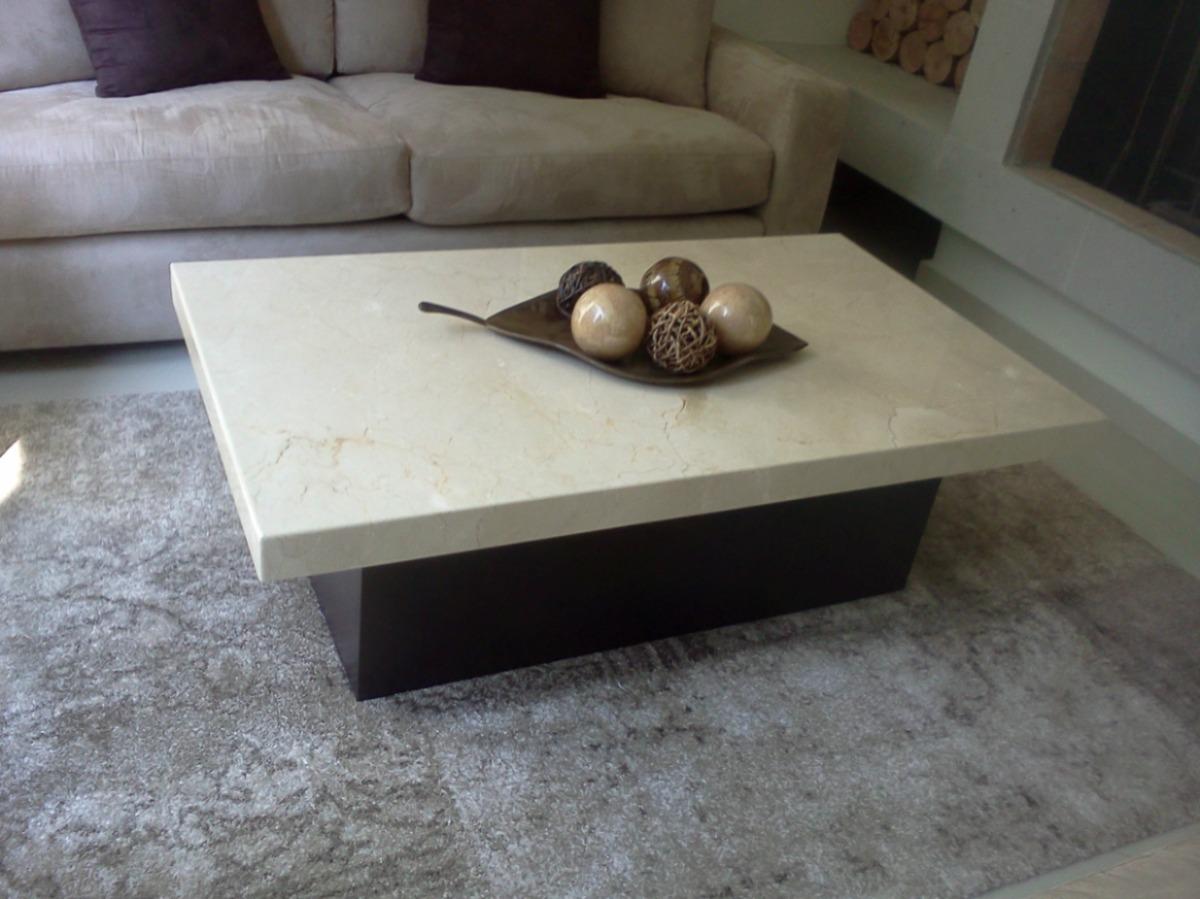 Mesa de centro marmol beige 3 en mercado libre for Precio mesada granito