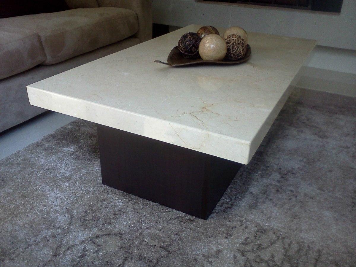 Mesa de centro marmol beige 3 en mercado libre for Marmol para mesa