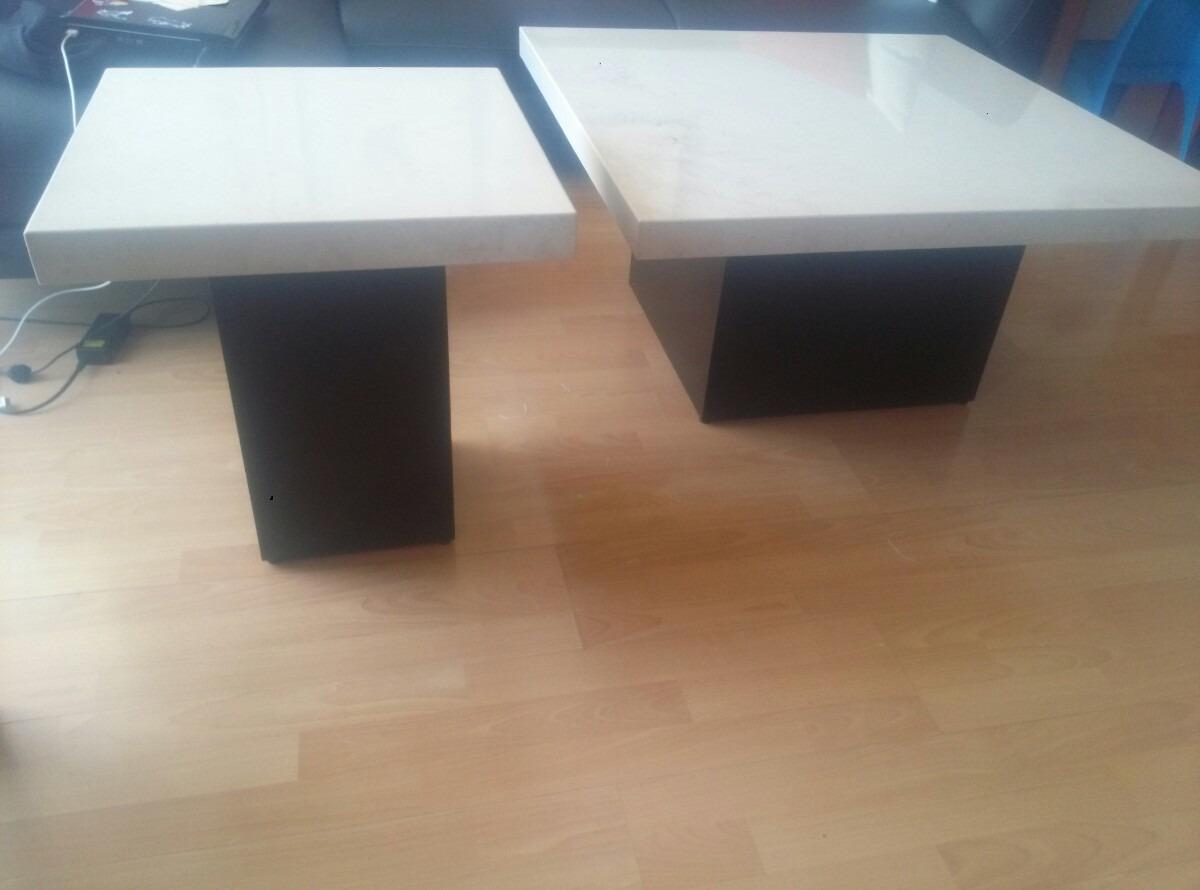 Mesa de centro marmol beige 3 en mercado libre - Mesas de marmol precios ...