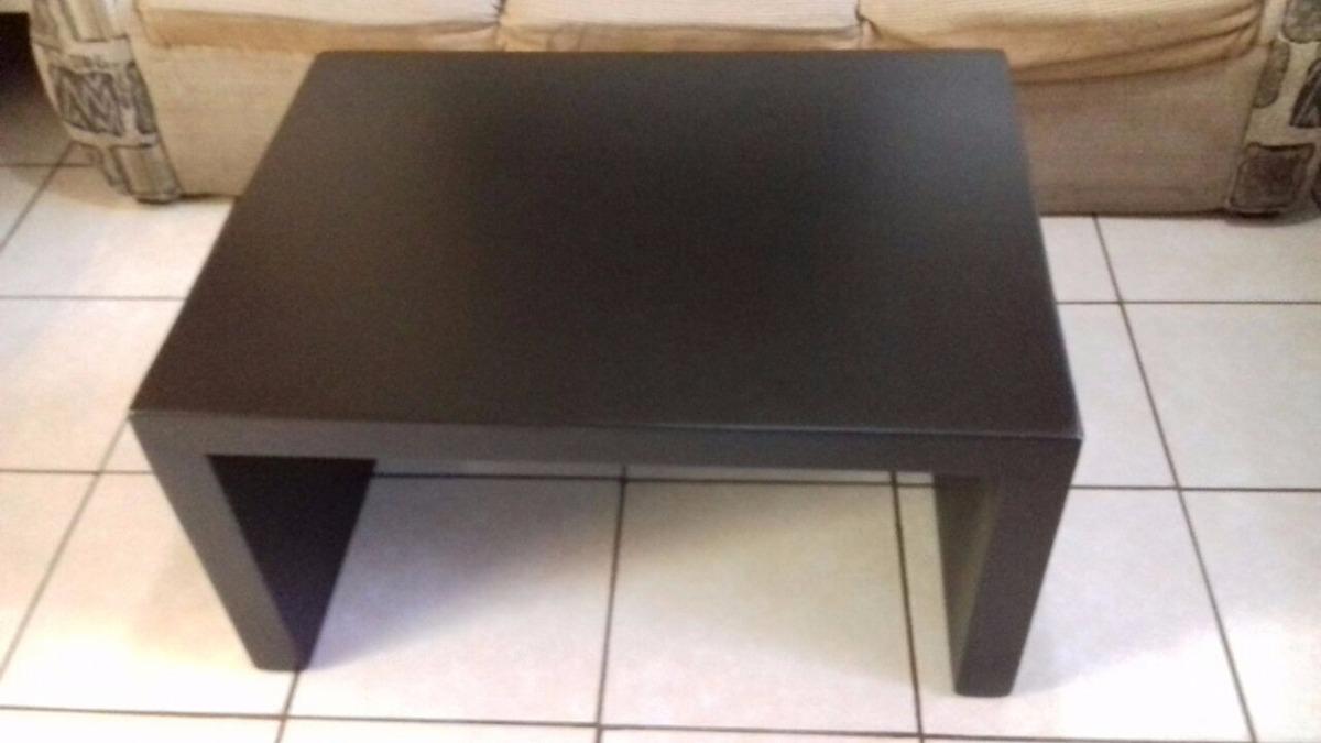 Mesa de centro minimalista chocolate madera sala 899 for Mesas de madera para sala