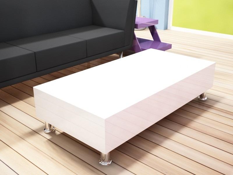 Mesa de centro minimalista con patas de dise o nesign for Patas para mesa de centro