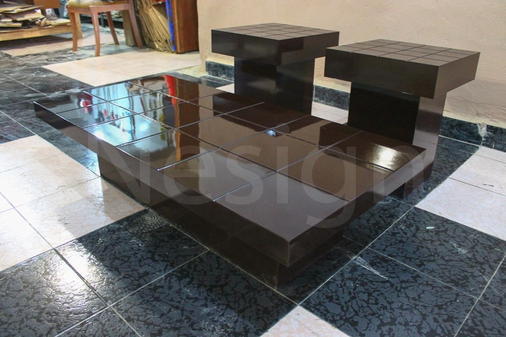 Mesa de centro minimalista modelo cuadricula nesign - Modelos de mesa de centro ...