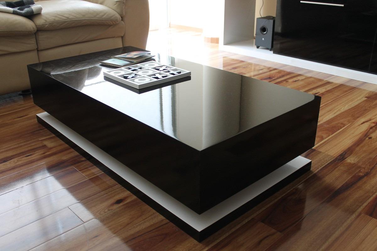 Mesa de centro minimalista modelo flotada dise o nesign for Fotos de mesas de centro