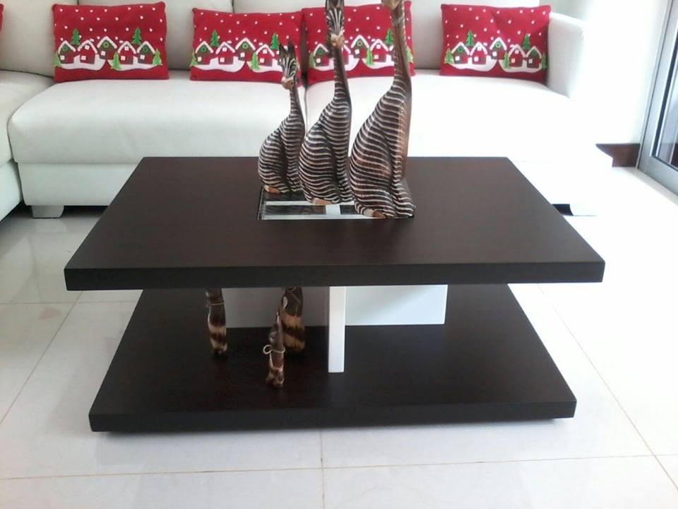Mesas madera moderna - Mesas modernas de centro ...