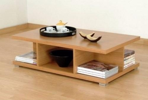 Mesa de centro moderna minimalista decoraci n hogar bs for Minimal art vzla