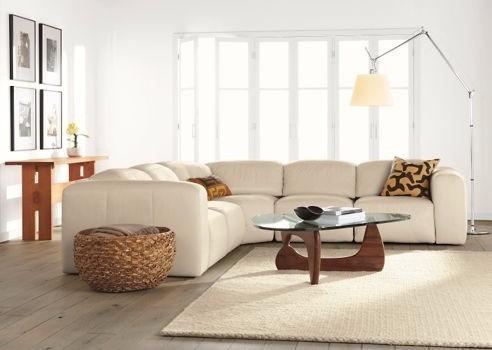 mesa de centro noguchi de 90 cm x 67 cm con vidrio de 10 mm